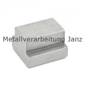 T-Nutenstein DIN 508 Nutbreite 6 mm blank - 1 Stück