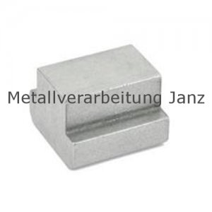 T-Nutenstein DIN 508 Nutbreite 16 mm blank - 1 Stück