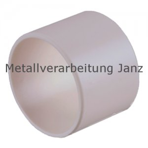 Buchse EP22 Bohrung 8 mm Außendurchmesser 10 mm Länge 6 mm Farbe weiß - 1 Stück