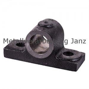 Stehlager HM Bohrung 25mm D9 Material Grauguss - 1 Stück