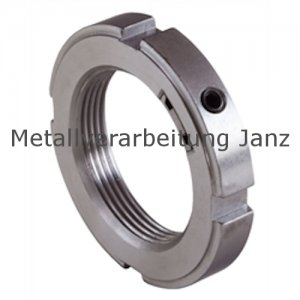 Nutmutter mit integrierter Sicherung KMK 8 Gewinde M40x1,5 - 1 Stück