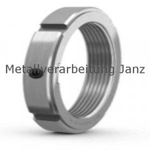 Nutmutter KMK-R Material 1.4301 mit integrierter Sicherung Größe 12 Gewinde M60x2,0  - 1 Stück