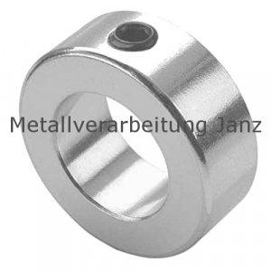 Stellring DIN 703 Gewindestift 12.9 mit Innensechskant Bohrung 80mm blank - 1 Stück