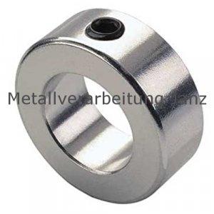 Stellring DIN 703 Gewindestift mit Innensechskant Bohrung 90mm Edelstahl 1.4305 - 1 Stück