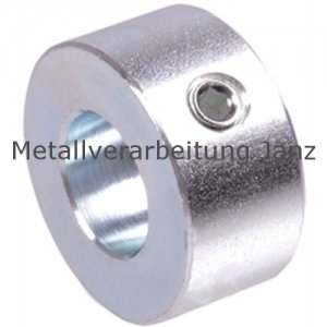 Stellring DIN 703 Gewindestift 12.9 mit Innensechskant Bohrung 70mm verzinkt - 1 Stück