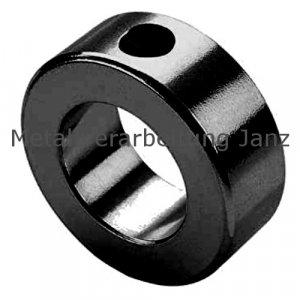 Stellring DIN 703 Gewindestift 12.9 mit Innensechskant Bohrung 25mm brüniert - 1 Stück