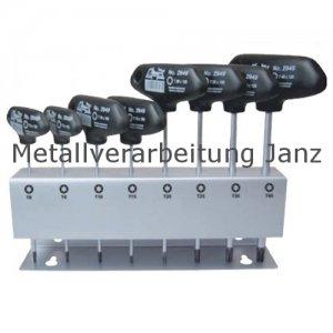 Torx-Stiftschlüssel-Sortiment in Metallständer - 8 teilig