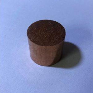 Reststücke Kupfer Rund Ø 30 mm Länge 25 mm