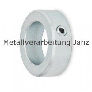 Stellring DIN 705 A Bohrung 12mm Edelstahl 1.4305 Gewindestift mit Innensechskant nach DIN EN ISO 4027 (alte DIN 914) - 1 Stück
