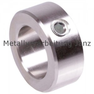 Stellring DIN 705 A Bohrung 38mm Edelstahl 1.4305 Gewindestift mit Innensechskant nach DIN EN ISO 4027 (alte DIN 914) - 1 Stück