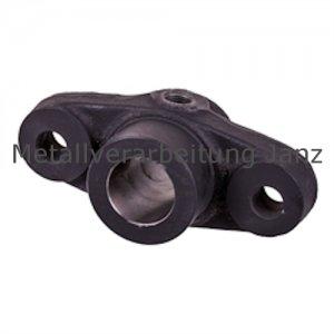 Flanschlager DIN 502 Ausführung B ohne Buchse Bohrung 40mm D7 - 1 Stück