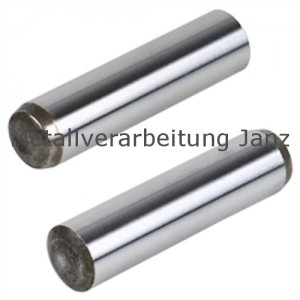 Zylinderstift DIN 6325 Toleranz m6 Stahl gehärtet Durchmesser 2,5 x 8 mm - 1 Stück