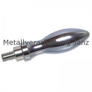Drehbarer Ballengriff aus Stahl DIN 98 St Durchmesser 25mm Ausführung E mit Gewindezapfen M10 - 1 Stück