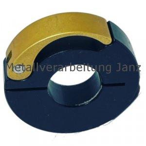 Schnellspann-Klemmring Aluminium schwarz eloxiert Bohrung 20 mm - 1 Stück