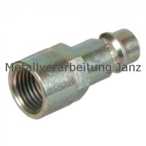 Stecknippel mit Innengewinde für Schnellkupplungen G 1/4 - 1 Stück