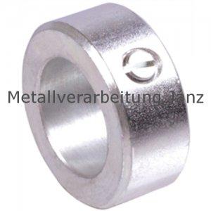 Stellring DIN 705 A Bohrung 16mm Stahl Verzinkt Gewindestift mit Schlitz nach DIN EN 27434 (alte DIN 553) - 1 Stück