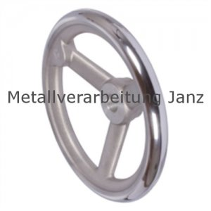 Speichen-Handrad DIN 950 aus Aluminium 3 Speichen Ausführung N/A Durchmesser 280mm - 1 Stück