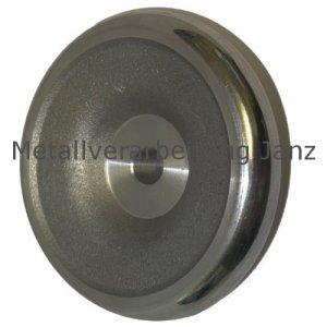 Scheiben-Handrad ähnlich DIN 950 aus Aluminium Durchmesser 125mm - 1 Stück