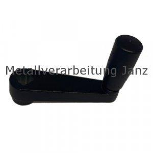 Handkurbel 471 Aluminium-Kokillenguß mit drehbarem Zylindergriff 125mm - 1 Stück