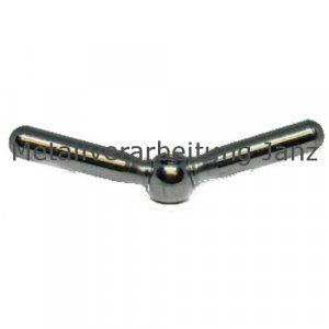 Doppelarmige Spannmutter M8 Stahl verzinkt - 1 Stück
