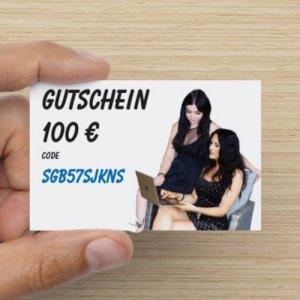 Gutschein über 100 €