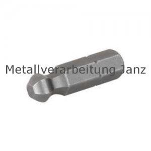 Kugelkopfbit für Innensechskant SW 4 x 25 - 1 Stück