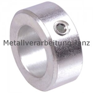 Stellring DIN 705 A Bohrung 14mm Oberfläche Stahl verzinkt Gewindestift mit Innensechskant nach DIN EN ISO 4027 (alte DIN 914) - 1 Stück