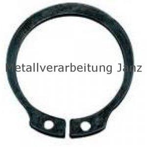 Sicherungsringe für Wellen DIN 471 22 mm Edelstahl - 1 Stück