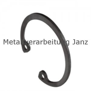 Sicherungsringe für Bohrungen DIN 472 10 mm Blank - 1 Stück