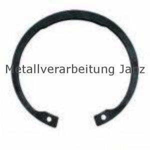 Sicherungsringe für Bohrungen DIN 472 37 mm Blank - 1 Stück