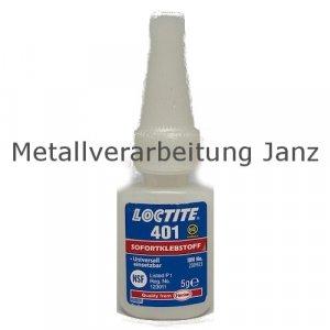 Loctite 401 Universal-Sofortklebstoff Inhalt 5g