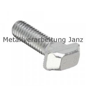 Hammerschrauben DIN 186 Form B A2 Edelstahl M8x40 - 50 Stück