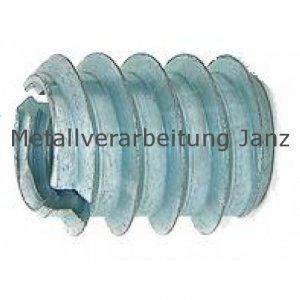 DIN 7965 Einschraubmuttern M6x12mm / Ø 12,0mm verz - 1.000 Stück