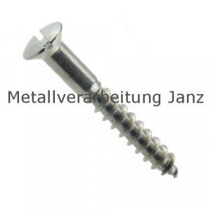 Linsensenkkopfschrauben mit Schlitz DIN 95, A4 Edelstahl M 2,5x12 - 500 Stück