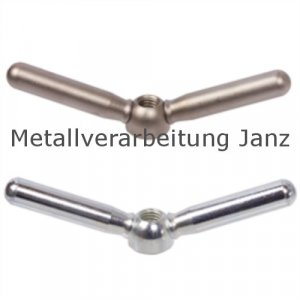 Doppelarmige Spannmutter M12 Stahl verzinkt - 1 Stück