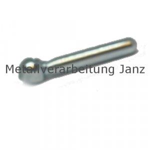 Zylindrische Spannmutter M8 Edelstahl verzinkt - 1 Stück