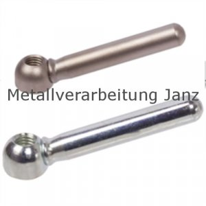 Zylindrische Spannmutter M12 Edelstahl verzinkt - 1 Stück