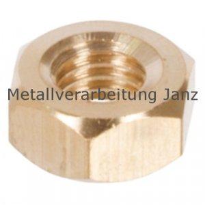 Sechskantmutter DIN 934 Messing Ms60 Gewinde M3 rechtssteigend - 1 Stück