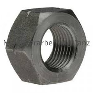 Sechskantmutter ISO 4032 (ehem. DIN 934) G.12 M8 blank - 10 Stück