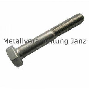 Sechskantschrauben DIN 931 (ISO 4014) Polyamid 6.6, Farbe: naturweiss M 5x70 - 200 Stück