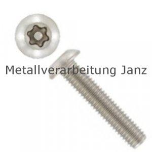 A2 Edelstahl Sicherheitschrauben ähnl.ISO 7380 Linsenkopf mit Torx und Pin