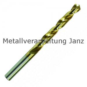 DIN 338 HSS-TiN Titannitrierte Bohrer