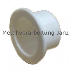 Gleitlager-Bundbuchsen aus Kunststoff EP22 TM, bis 170ºC