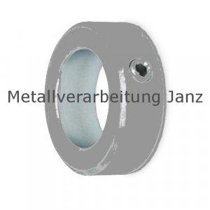 Stellringe DIN 705 A mit Innensechskantschraube Stahl