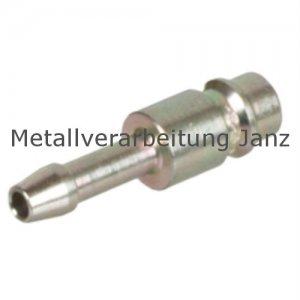 Stecknippel mit Schlauchanschluss für Standard- und Sicherheits-Schnellkupplunge
